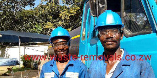 Septic Tank Emptying Team Harare Zimbabwe