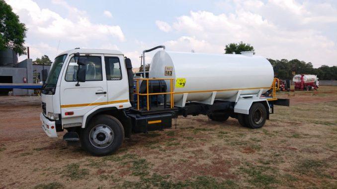 honey sucker truck in Harare