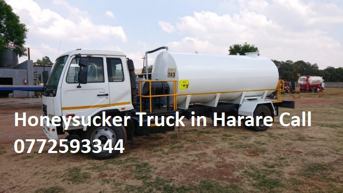 Honeysucker Truck in Harare Sdervices